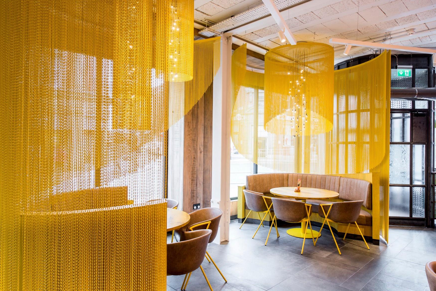 kriskadecor nando's altrincham restaurant Stac Architecture Ltd.